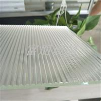供应压花玻璃LA-6(水晶柱) LA-8 螺纹