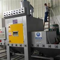 不锈钢制品表面处理设备 红海自动喷砂机