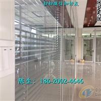 深圳双玻璃电动百叶隔断