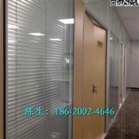 惠州双玻璃百叶隔断图片
