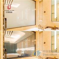 厂家定制生产 智能调光玻璃 投影玻璃