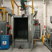吊钩式抛丸机厂家 佛山汽车轮毂模具表面处理喷砂机