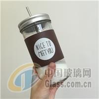 创意梅森瓶大容量玻璃杯