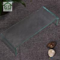 定尺定做U型玻璃 幕墻玻璃鋼化玻璃 熱彎工藝