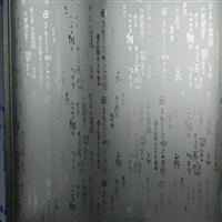 电梯门面装饰装修玻璃