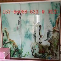 装新风尚宇创浮雕玻璃背景墙UV平板打印机