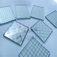 广州夹铁丝网格玻璃