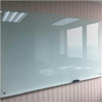 白板磁性钢化烤漆玻璃白板厂家送货安装