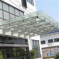南京维修夹胶玻璃雨棚