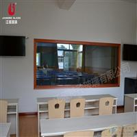 浙江学校录播教室玻璃 微格教室玻璃 单向玻璃