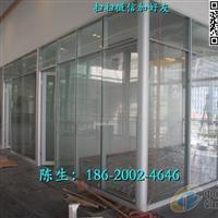 广东办公玻璃隔断铝合金玻璃隔墙
