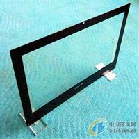供应黑色丝网印刷钢化玻璃