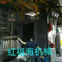 喷粉挂具表面处理喷砂机 铝材铝艺门花毛坯处理喷砂机