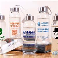 广告杯定制可印字玻璃杯定做水杯logo