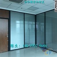 办公室成品玻璃隔断深圳厂家供应