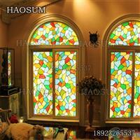 定做教堂玻璃窗户 蒂凡尼彩色玻璃窗