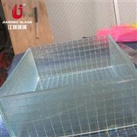 广东广州消防通道用夹铁丝玻璃 铁丝网玻璃