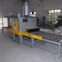 小五金件除锈除油喷砂机 红海大型板材输送式喷砂机