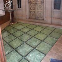10mm防滑玻璃 地板 舞台防滑楼梯