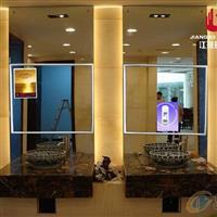广州单向玻璃厂家 镜显玻璃 镜面广告机单反玻璃