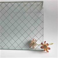 夹铁丝玻璃 夹钢丝玻璃