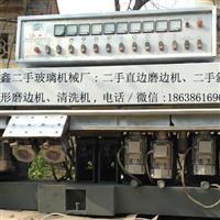 河南郑州二手玻璃磨边机的,河南海鑫二手玻璃机械厂
