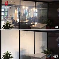 隔音型 办公室会议室隔断调光玻璃 酒店卫浴雾化玻璃