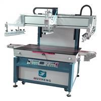YS-8012T自动退料玻璃丝印机
