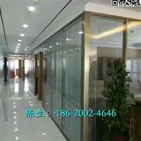 惠州办公室中空铝合金隔断材料 厂家供应