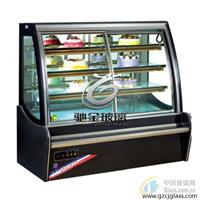 广州供应4+6A+4导电膜电加热玻璃 冰柜除雾玻璃