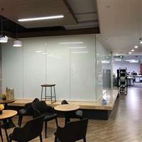 办公室用投影调光玻璃 电控玻璃 雾化玻璃