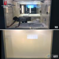 定制 阳光房用雾化玻璃 酒店卫浴隔断调光玻璃