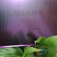 上海昌岳彩色镜面拉丝玻璃