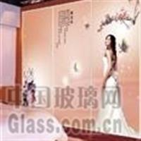 彩釉玻璃厂家供应 5-19mm彩釉钢化玻璃