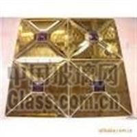 北京专业安装各种异形菱形镜子,拼镜,彩色镜
