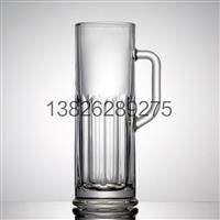 酒吧用高白料压制玻璃啤酒杯生产加工LOGO
