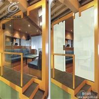 玻璃厂定做 高科技调光玻璃 通电投影变色玻璃