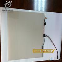 驰金调光贴膜PDLC自贴变色膜、直接贴在玻璃上电控变色