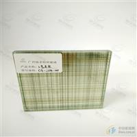馳金藝術夾絲玻璃廠專業加工裝飾工藝玻璃 來樣生產