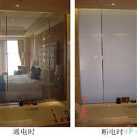 酒店情调电控变色淋浴房 通电透明 断电乳白 随心操控