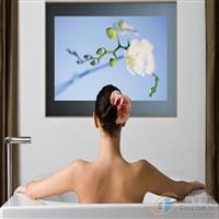 新一代洗手間專用鏡面燈箱廣告鏡 廣告魔術鏡