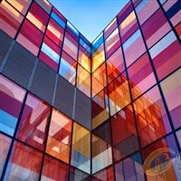 艺术夹丝玻璃厂专业加工装潢工艺玻璃 来样临盆