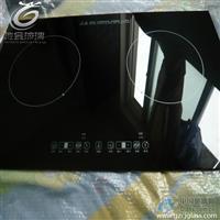 电磁炉微晶玻璃面板 黑色耐高温微晶玻璃 佛山生产厂家