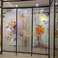 大幅面藝術玻璃移門uv噴繪機