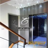 LED光电玻璃 电梯LED发光玻璃