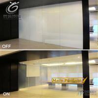 驰金专业定制6+6智能调光玻璃 办公室隔断玻璃