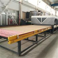 二手兰迪强制对流平板玻璃钢化机组LD-A2460U