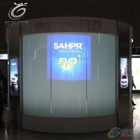 广州驰金高透智能调光玻璃 投影玻璃 钢化艺术玻璃