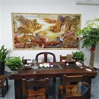四川理光5D视觉背景墙浮雕彩印机