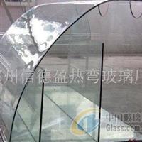单曲弯钢玻璃河南郑州供应